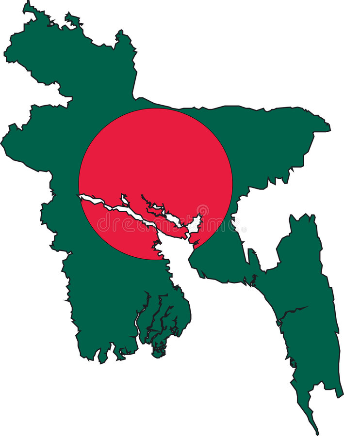 Shapla National Flower of Bangladesh flag