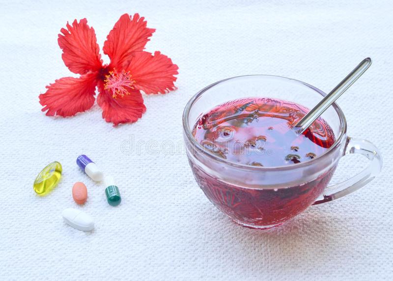 Hibiscus medicines