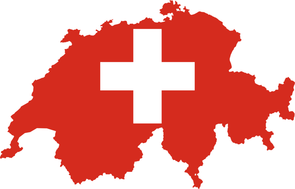 Sweizerland map