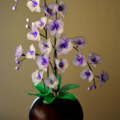 Orchid flower art